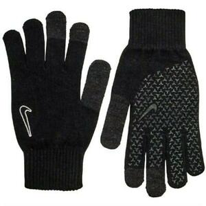 Nike Knitted Tech And Grips Gloves 2.0 Black/Black/White