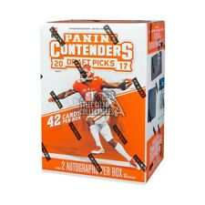 2017 Panini Contenders Draft Picks Collegiate Football Blaster Box