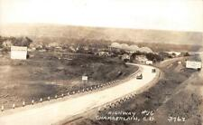 RPPC Highway #16 Chamberlain, South Dakota, Ford Sign ca 1940s Vintage Postcard