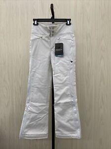 Obermeyer Jolie Softshell Snow Pants Big Girl's Size M White