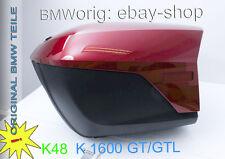 BMW K1 600 GT/GTL Seitenkoffer in weiss/blau/bordeaux/silber/perlmutt-weiss-NEU