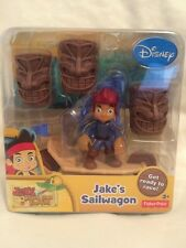 Disney Jake Neverland Pirates Jake's Sailwagon