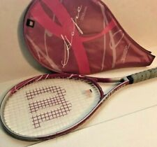 Wilson Hope Pink Tennis Racquet & Protective Cover 4 3/8 L3 Euc