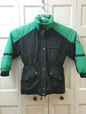 VTG Triple Fat Goose Down Men's Winter Jacket Coat Teal Black Small S Vintage