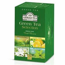 AHMAD TEA ,20 Alu. Green Classic Tea. Green tea selection, Scadenza  30/04/2022