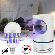 Electric Mosquito Killer Pest Fly Insect Bug Zapper LED Trapper Lamp Light Bulb