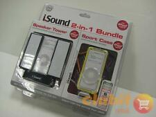 ISOUND 2-in1 Bundle per 1G iPod Nano NUOVO CON SCATOLA NUOVO SIGILLATO