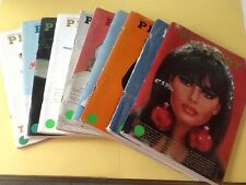 Playboy Magazine Full Year Set 1966 All 12 Issues. Complete Collection. Nude Lot