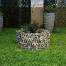 "vidaXl Hexagonal Gabion Planter 39.4""x35.4""x19. 7"" Flower Bed Basket Yard Patio✓"