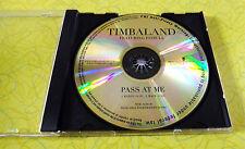 Timbaland - Pass At Me ~ Music CD ~ Rare Pitbull Promo Promotional Radio Edit