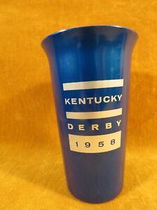 Vintage Kentucky Derby 1958 Reynolds Aluminum Tumbler/Cup