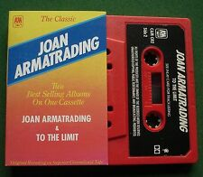 Joan Armatrading Self Titled + To The Limit (2on1) Cassette Tape - TESTED