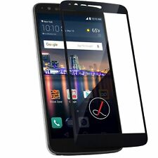 For LG Stylo 3 Tempered Glass Screen Protector Exact Design Full Screen Coverage