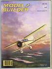 MODEL BUILDER Magazine June 1983 Plato: R/C sport flying saucer