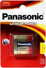 Panasonic CR-P2 Photo Power 6V 1400mAh Lithium Battery CRP2 DL223A EL223A K223L