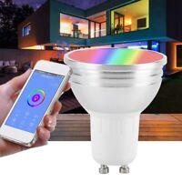 Lampadina Wifi Intelligente Gu10 6W Rgbw Wifi Led Dimmerabile Cup Alexa per O5P5