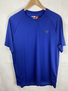 Under Armour Men's Blue Athletic Training Top Size Large - Brand New