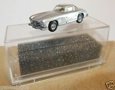 MICRO PRALINE HO 1/87 MERCEDES 300 SL GRIS CLAIR METAL in box