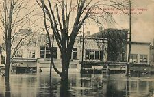South Sandusky Street From Campus, Great Flood of 1913, Delaware, Ohio OH