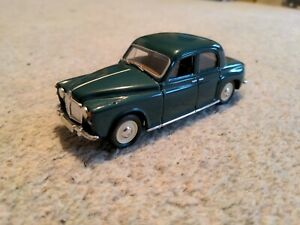 VANGUARDS ROVER P4 GREEN 1/43 1:43 scale job lot of 3