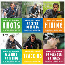 Bear grylls survival skills handbook collection series 2 : 6 books set pack NEW
