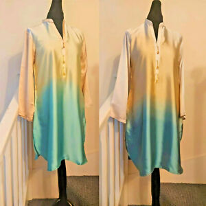 Ladies Pakistani Indian Designer Silk Kurta  Wedding Party Wear Medium