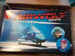 Sealed ERTL AMT AIRWOLF HELICOPTER 1:48 VINTAGE MODEL KIT 1982
