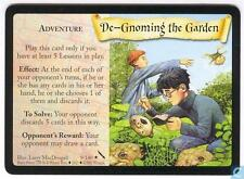 Harry Potter TCG Chamber Of Secrets De-Gnoming The Garden 9/140