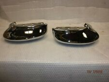 TWO NEW 1966 CHEVY IMPALA FRONT BUMPER ENDS CAPRICE BELAIR BISCAYNE SS CORNERS