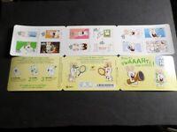 FRANCE 2020, CARNET timbres AUTOADHESIFS LAPINS CRETINS, BD COMICS neuf**, MNH