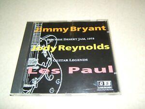 GUITAR LEGENDS JIMMY BRYANT JODY REYNOLDS LES PAUL : SUNTIDE DESERT JAM   CD