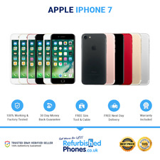 Apple iPhone 7 32GB 128GB 256GB Various Colours / Networks SIM Free Phone A1778