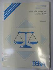 Building Services Legislation (Directory) by Johansson, M.