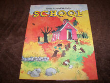 School Emily Arnold McCully 1987 first SIGNED HC DJ collectible children's