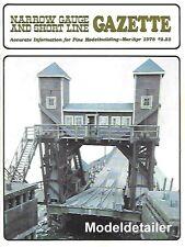 Narrow Gauge Gazette V4 N1 Brommer Stamo Mill Mogul Lambert Colorado Car Ferry