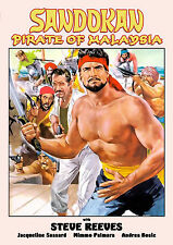Sandokan Pirate of Malaysia (1964) Steve Reeves (DVD) (Widescreen)