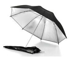"""83cm 33"""" 2in1 Black Reflector/White Soft Umbrella"""
