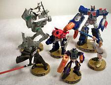 2005 Hasbro Attack Tix Star Wars & Transformer Game Pieces - Lot of 6