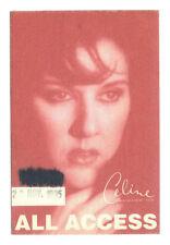 Celine - All Access - Konzert-Satin-Pass - vom 22.11.1995 - Schönes Sammlerstück