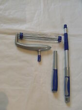 """kleeneze Lint Paint Roller Extendable Handle Long Hand Short upto 10"""" 250mm wide"""