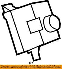 CHRYSLER OEM Ignition Lock-Receiver 68105739AC