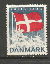 Denmark Christmas 1945 Tuberculosis (TB) charity stamp/seal