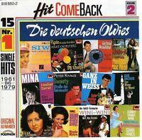 Hit come back 2-Die deutschen Oldies (1961-1979) Bill Ramsey, Connie Fran.. [CD]
