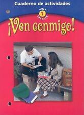 Ven Conmigo! Cuaderno de Actividades (Holt Spanish: Level 1) (Spanish Edition),