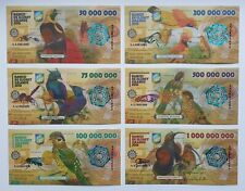 Elobey Grande Set of 6 banknotes 2018 UNC (private issue)