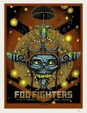 Foo Fighters Munk One Wichita Poster Print Artist Edition Signed &Numbered xx/35