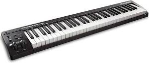 Keyboard M-Audio MIDI Controller MKIII kompakt tragbar 61 Tasten Elektro Piano