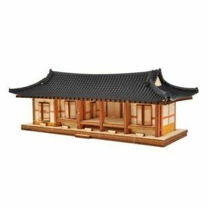 YoungModeler Ho Series Korea Traditional Tile-roofed House Wooden Model Kit