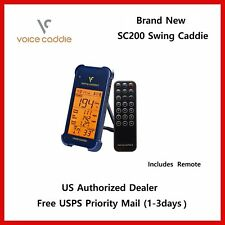 New Voice Caddie SC200 Portable Golf Launch Speed Monitor with Audible Out Put