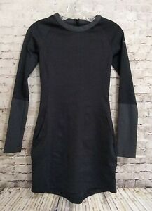 Nike Golf Tour Performance Dri-Fit Ponte L/S Fitted Dress Size 0